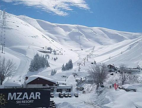 Mzaar Sport Chalets Mzaar Kfardebian Lebanon   Kitchenette